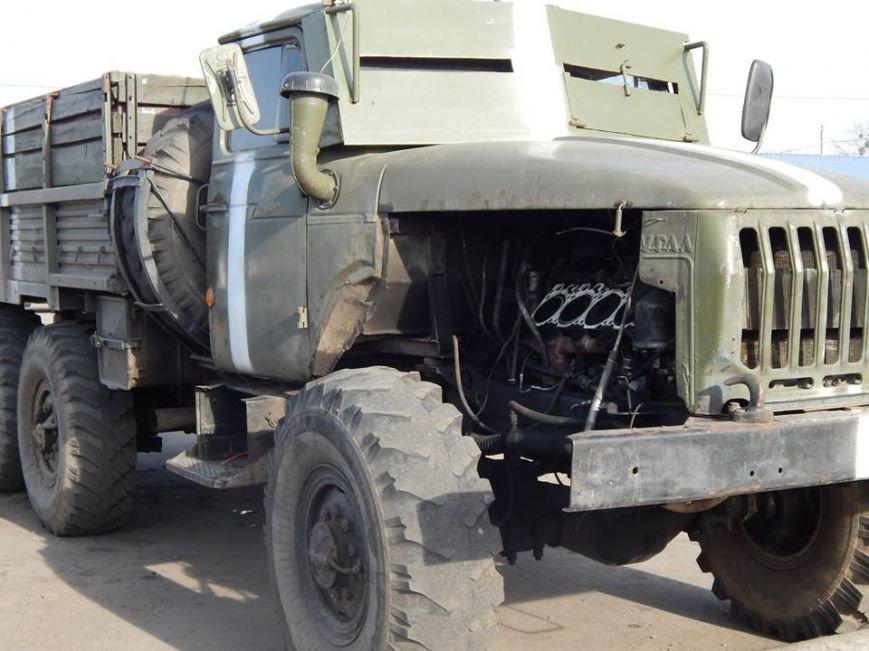 Уманські механіки відремонтують військовий автомобіль (фото), фото-2