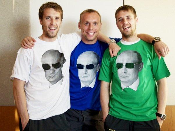 футболки с путиным2