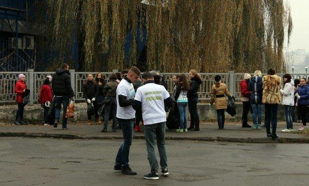 Тернопільські активісти прибрали парк «Загребелля» (фото), фото-3