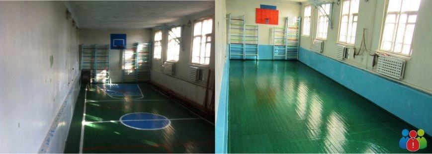В Кривом Роге благотворительный фонд отремонтировал школьный спортзал (ВИДЕО), фото-2