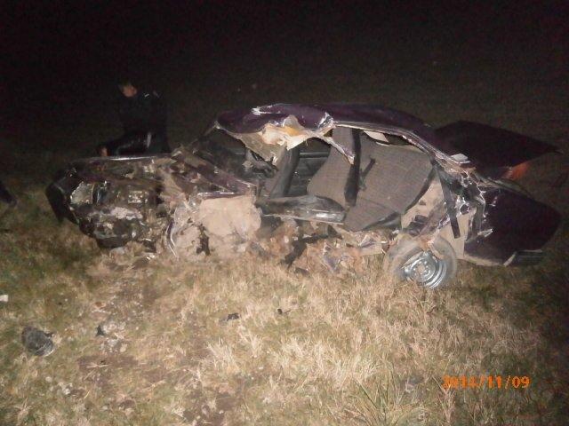 места наибольшего повреждения авто ВАЗ 2107