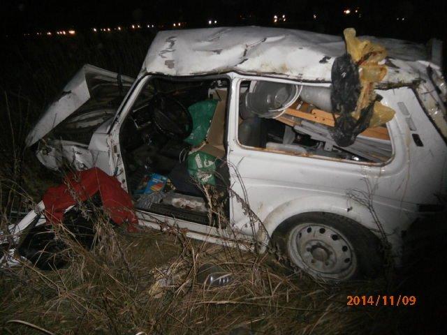 места наибольшего повреждения авто ВАЗ 21213