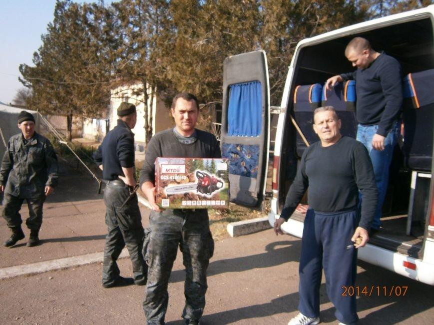 Гуманитарную помощь бойцам Нацгвардии доставили криворожские волонтеры (ФОТО), фото-6