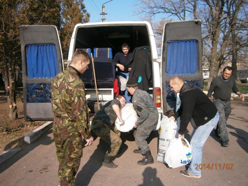 Гуманитарную помощь бойцам Нацгвардии доставили криворожские волонтеры (ФОТО), фото-5
