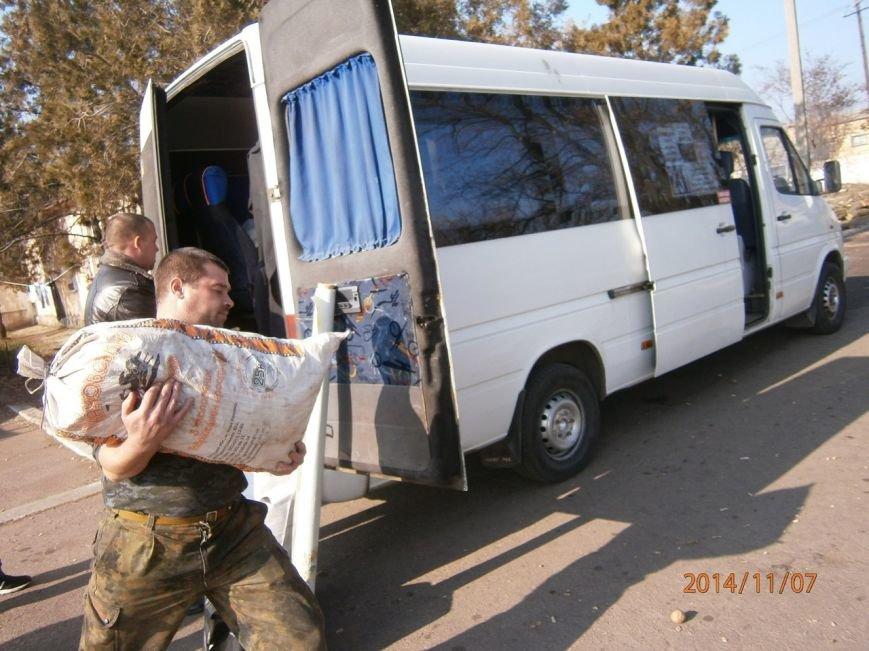 Гуманитарную помощь бойцам Нацгвардии доставили криворожские волонтеры (ФОТО), фото-2