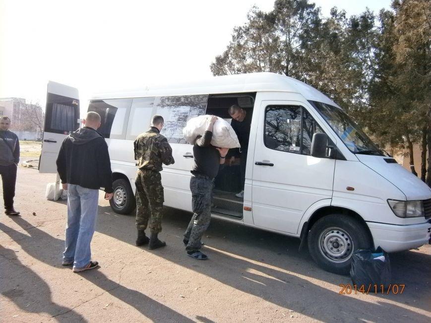 Гуманитарную помощь бойцам Нацгвардии доставили криворожские волонтеры (ФОТО), фото-1