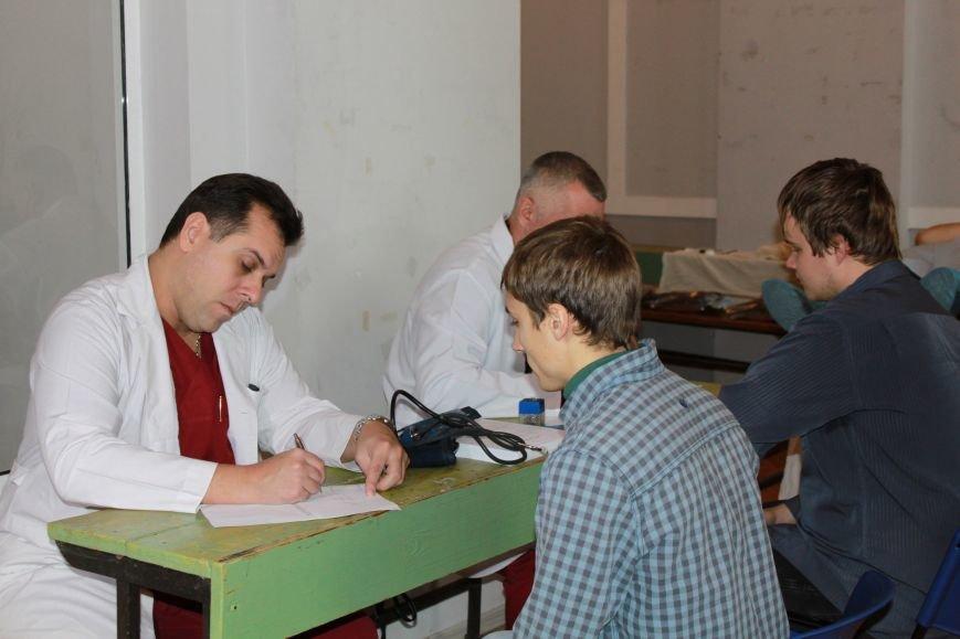 Запорожские студенты сдали кровь для раненных бойцов АТО (ФОТО), фото-7
