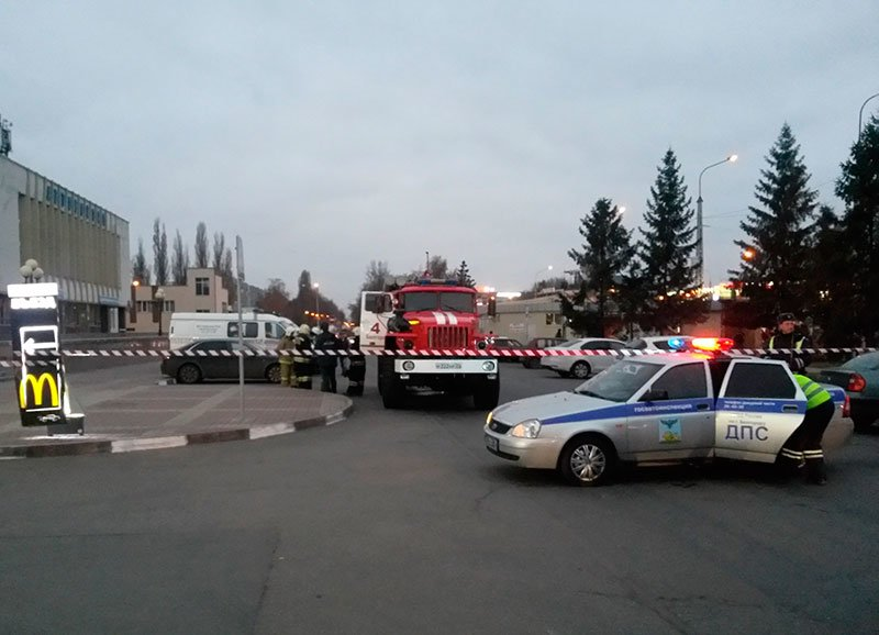 В Белгороде полиция оцепила территорию автовокзала (фото) - фото 1