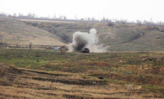 Бойцы батальона «Херсон» и специальной роты милиции провели учебно-тренировочные стрельбы, фото-4