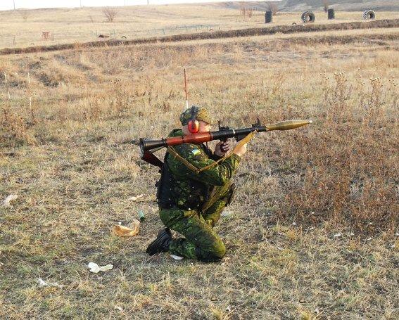 Бойцы батальона «Херсон» и специальной роты милиции провели учебно-тренировочные стрельбы, фото-2