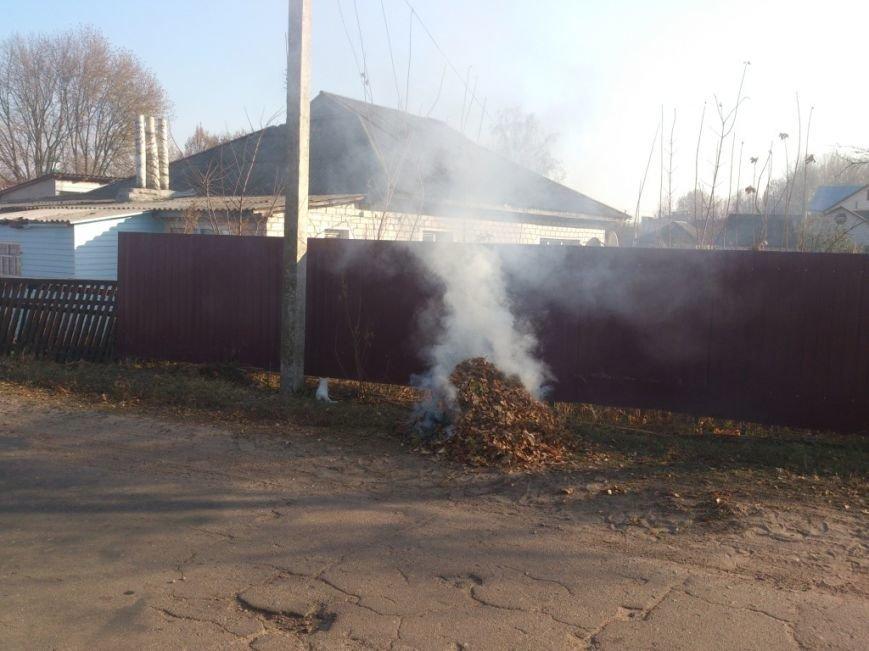 Чернигов задыхается от дыма. Кто виноват и как себя обезопасить?, фото-1