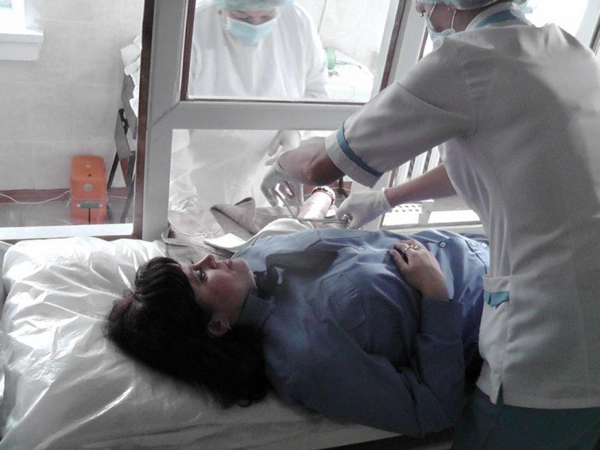 Кіровоградські працівники ДАІ здали кров для порятунку потерпілих під час ДТП та АТО, фото-3