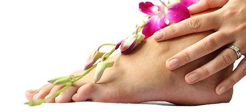 Как получить приятный запах от ног?