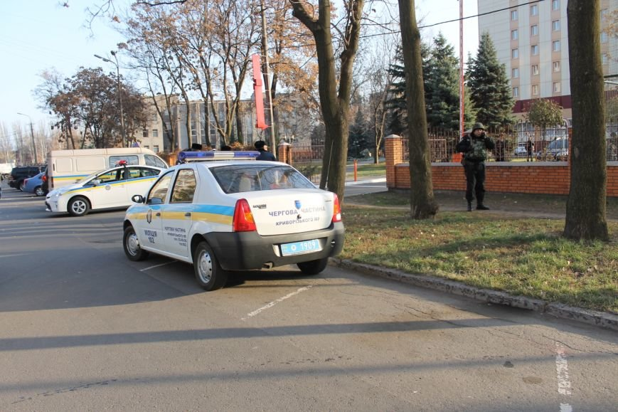 Милиция Кривого Рога  обезвредила бандита, угрожавшего гранатой (ФОТО), фото-1