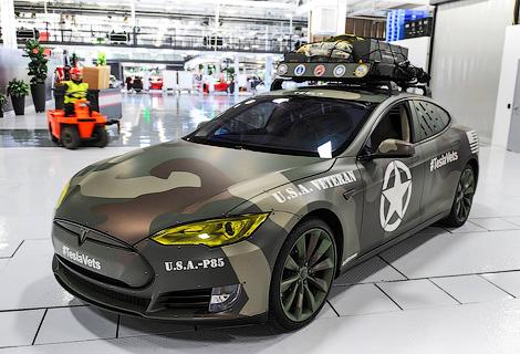 «Тесла» построила «военный» вариант Model S, фото-1