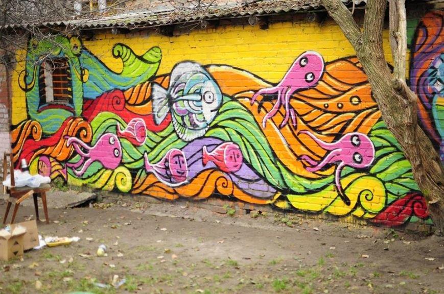 Черкаська художниця прикрашає місто шедеврами (фото), фото-2