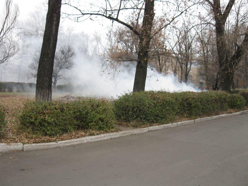 «Забота» о здоровье больных в Красноармейске – костры и дым на территории больницы, фото-2