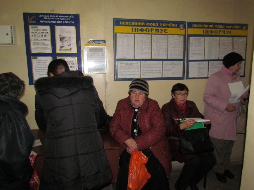 Пенсионеры из оккупированных территорий едут в Мариуполь за пенсиями (ФОТО), фото-3