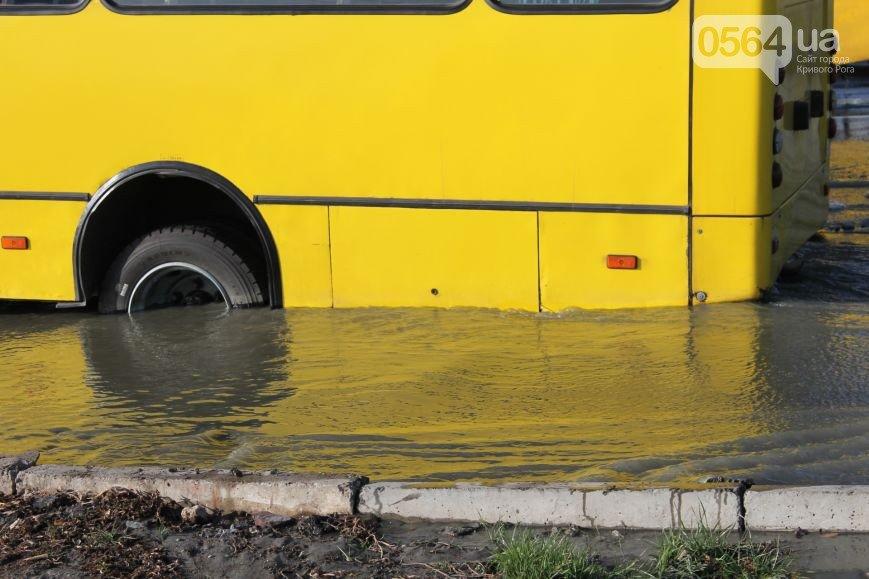 В Кривом Роге городской голова отметил свой юбилей, маршрутка провалилась в яму, а внедорожник влетел в дом, фото-2