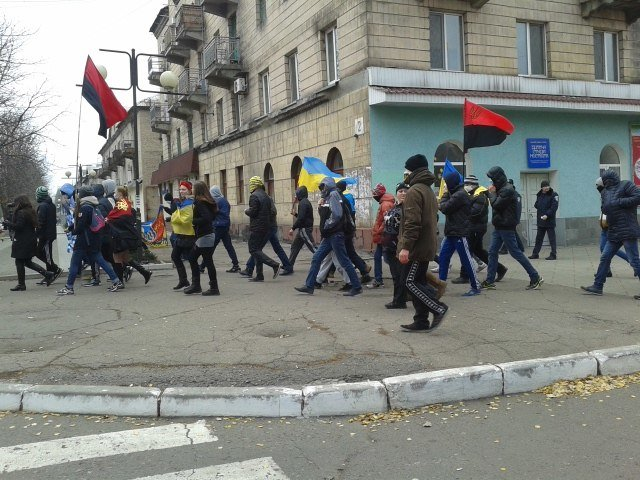 В Красноармейске проходит «Марш патриотов» (ФОТОФАКТ), фото-1