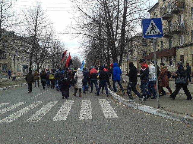 В Красноармейске проходит «Марш патриотов» (ФОТОФАКТ), фото-2