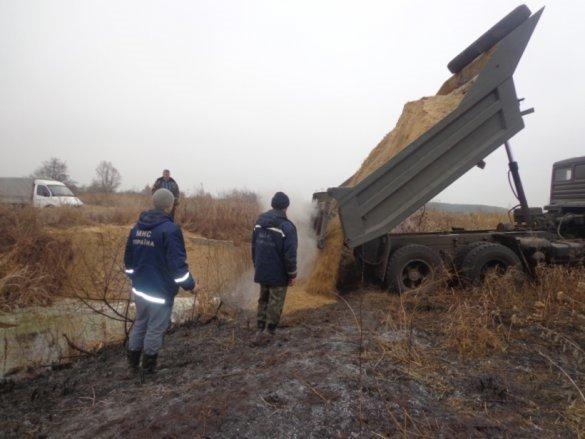 В Черниговской области не могут потушить самый масштабный за 20 лет пожар, фото-1