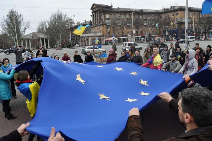В Запорожье отпраздновали годовщину местного Евромайдана (ФОТО), фото-3