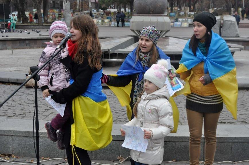 В Запорожье отпраздновали годовщину местного Евромайдана (ФОТО), фото-4