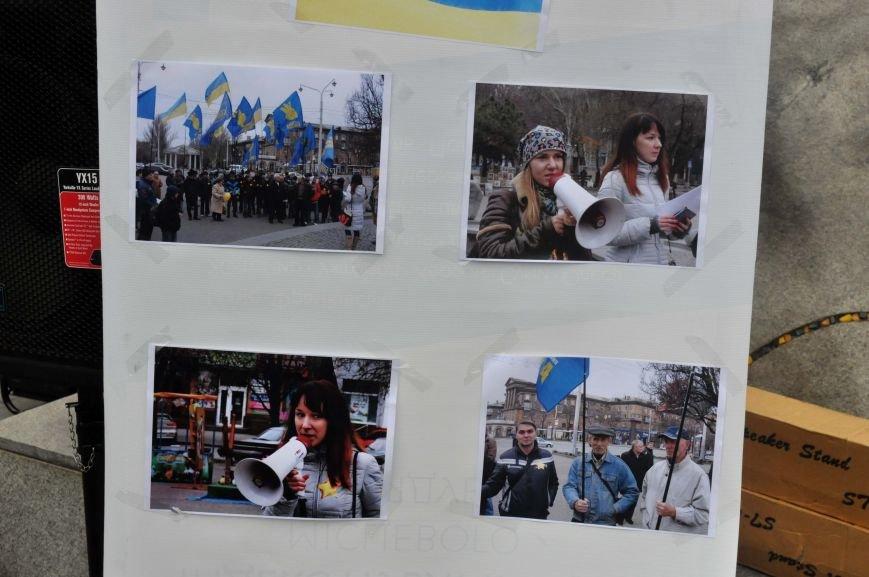 В Запорожье отпраздновали годовщину местного Евромайдана (ФОТО), фото-5