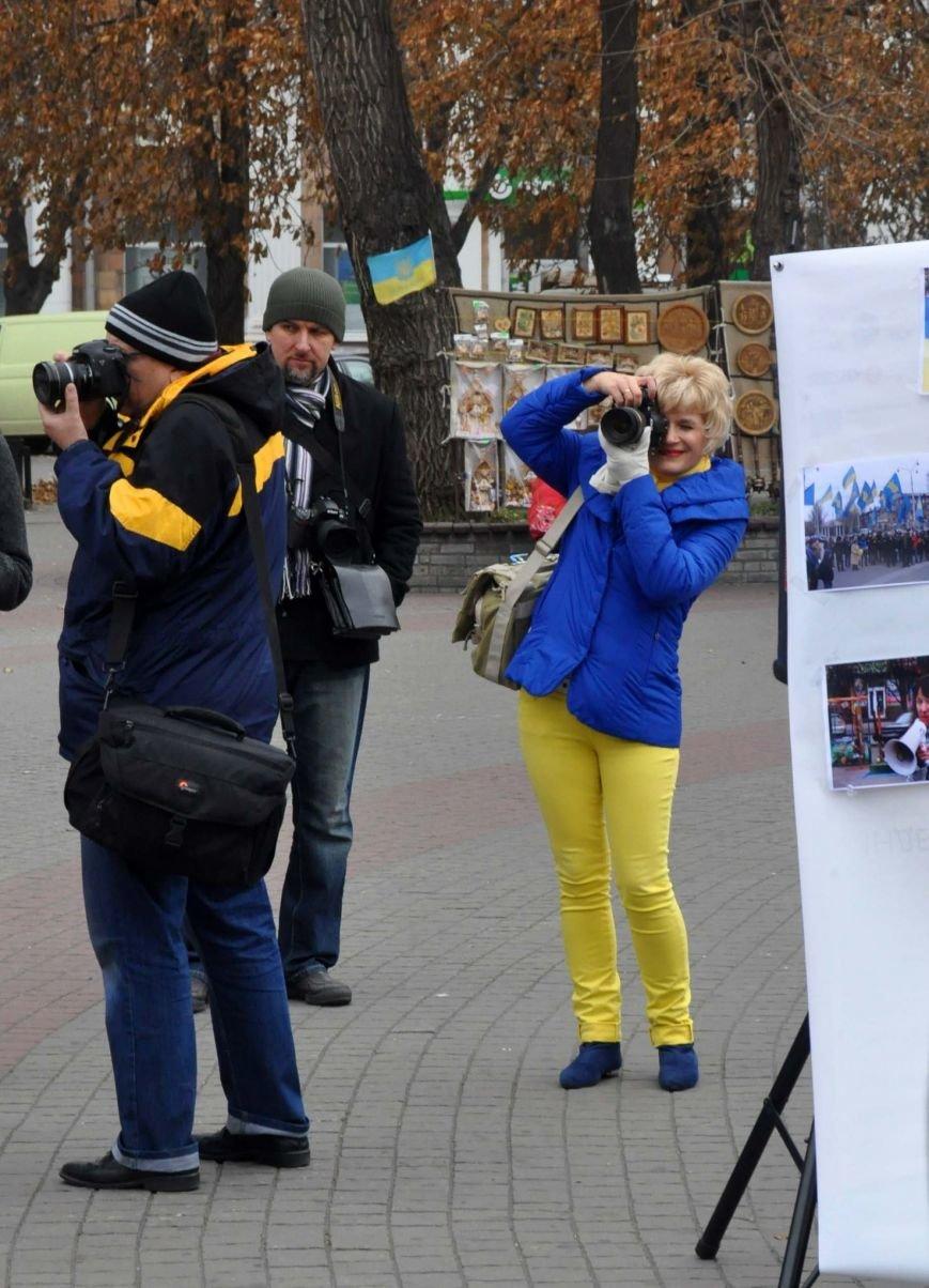 В Запорожье отпраздновали годовщину местного Евромайдана (ФОТО), фото-6