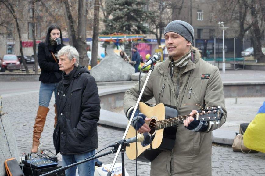В Запорожье отпраздновали годовщину местного Евромайдана (ФОТО), фото-2
