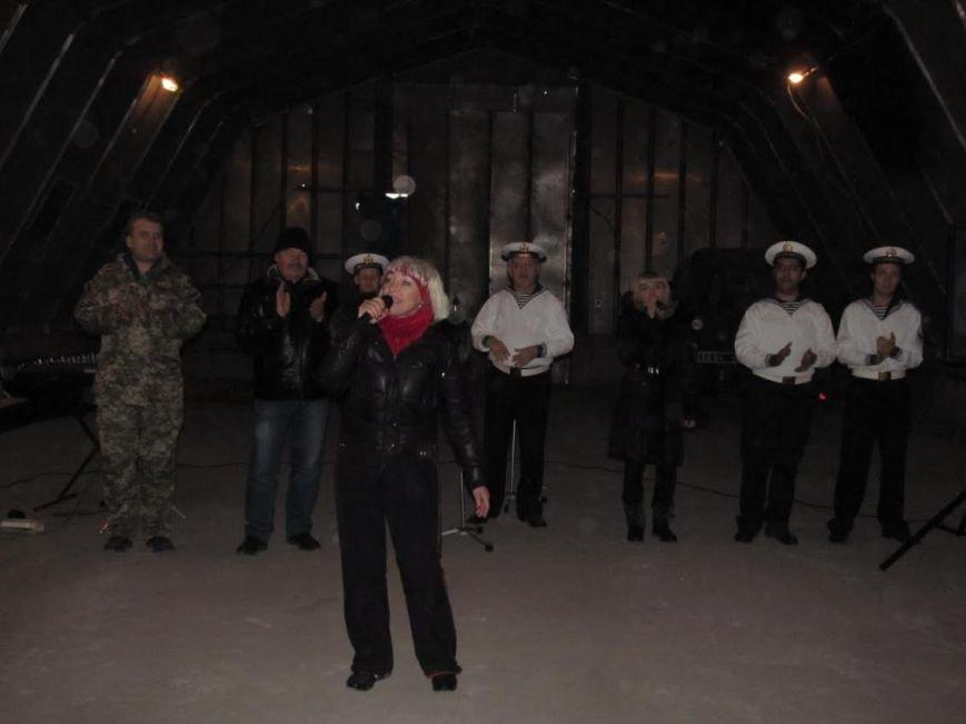 В Мариуполе выступили военные артисты (ФОТО), фото-4