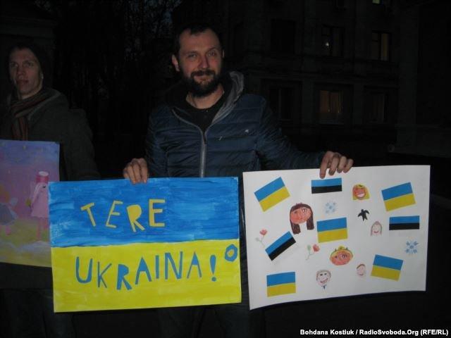 Эстонцы передают помощь участникам АТО на сто тысяч евро (фото) - фото 1
