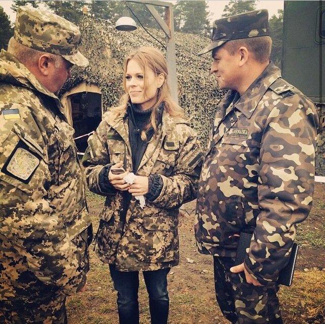 Военных посетила инспектор Ольга Фреймут, фото-1