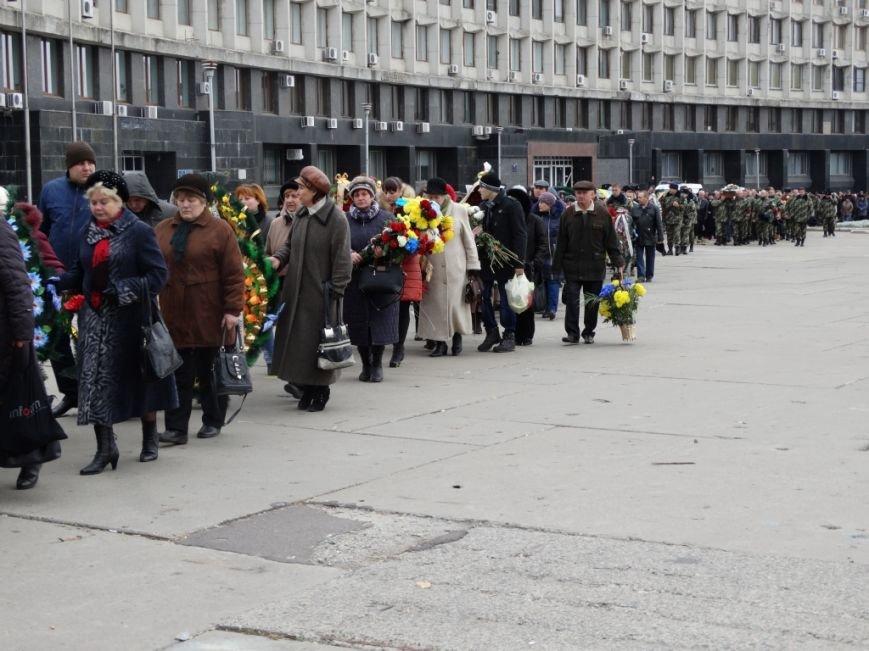 Сумы попрощались с погибшим в АТО Артемом Коханым (ФОТО), фото-7