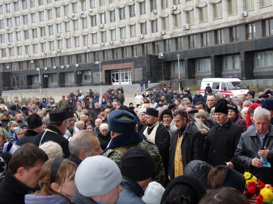 Сумы попрощались с погибшим в АТО Артемом Коханым (ФОТО), фото-6