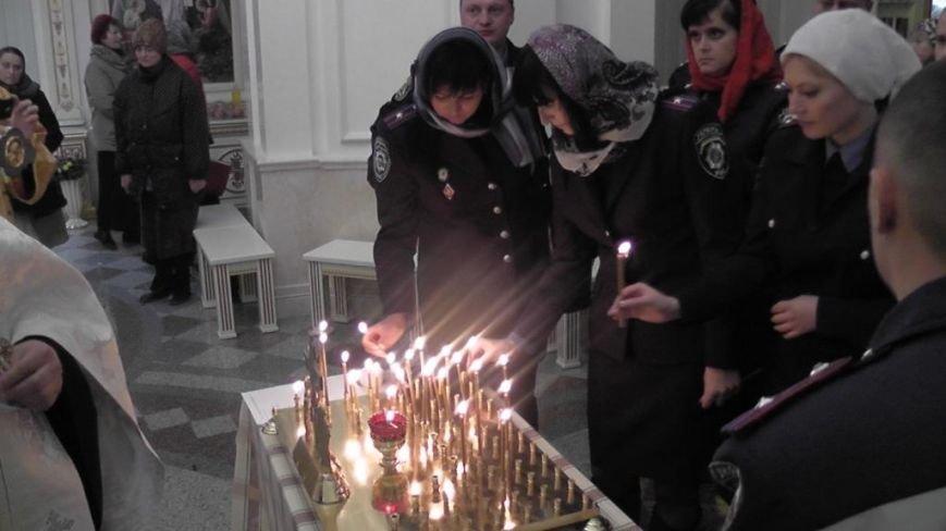 Працівники ДАІ Кіровоградщини взяли участь у поминальному молебні, фото-1