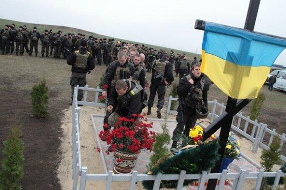 В Славянске открыли Крест на месте крушения александрийского МИ-8, фото-1