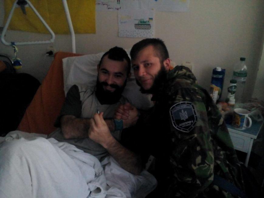 Бойцу из Димитрова, раненому в селе Пески, нужна помощь, фото-2
