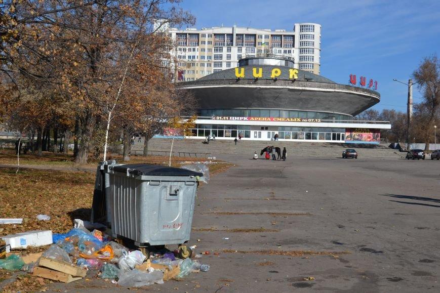 ФОТОФАКТ: Запорожцы жалуются на мусор возле цирка, фото-1