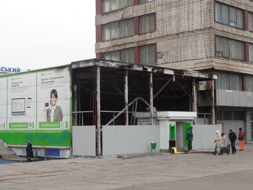 В центре Мариуполя спрячут пожарище (ФОТОФАКТ), фото-2