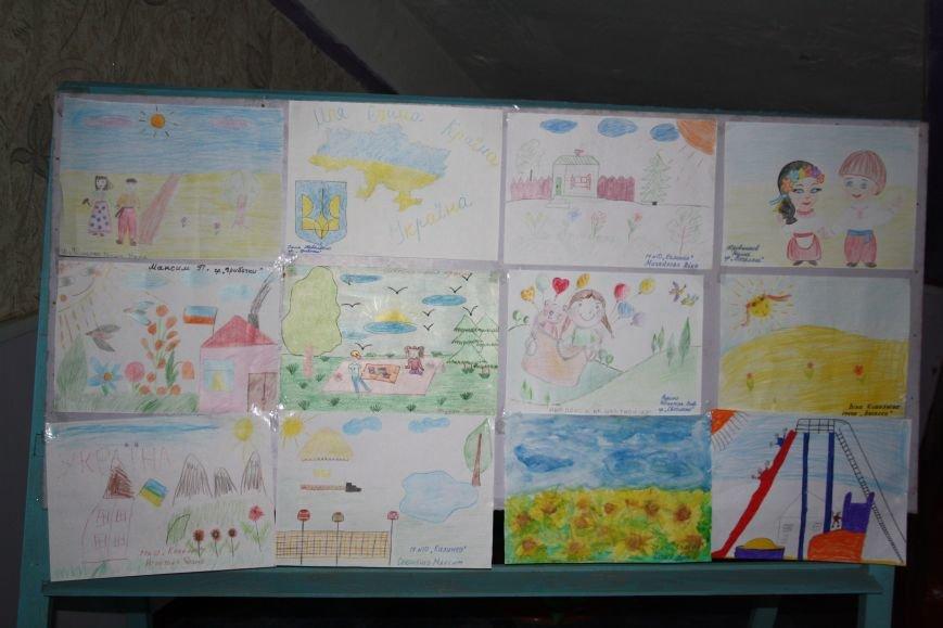 В детском саду Красноармейска прошел конкурс рисунка «Мы – единая Украина», фото-3