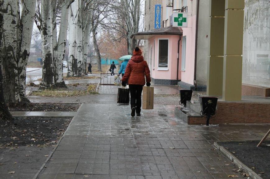 В Красноармейске первый гололед, фото-3
