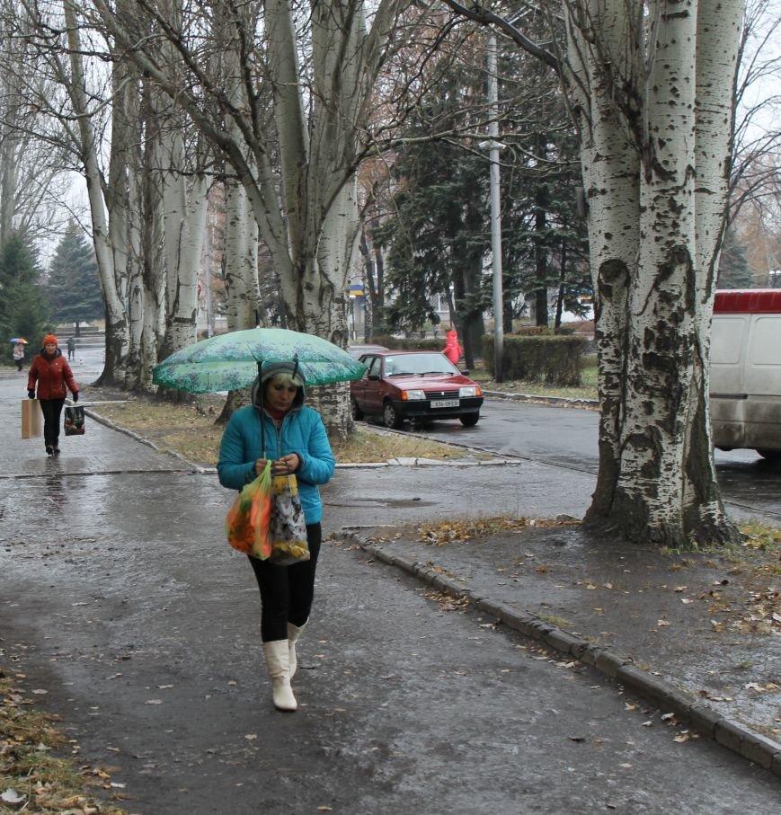 В Красноармейске первый гололед, фото-2