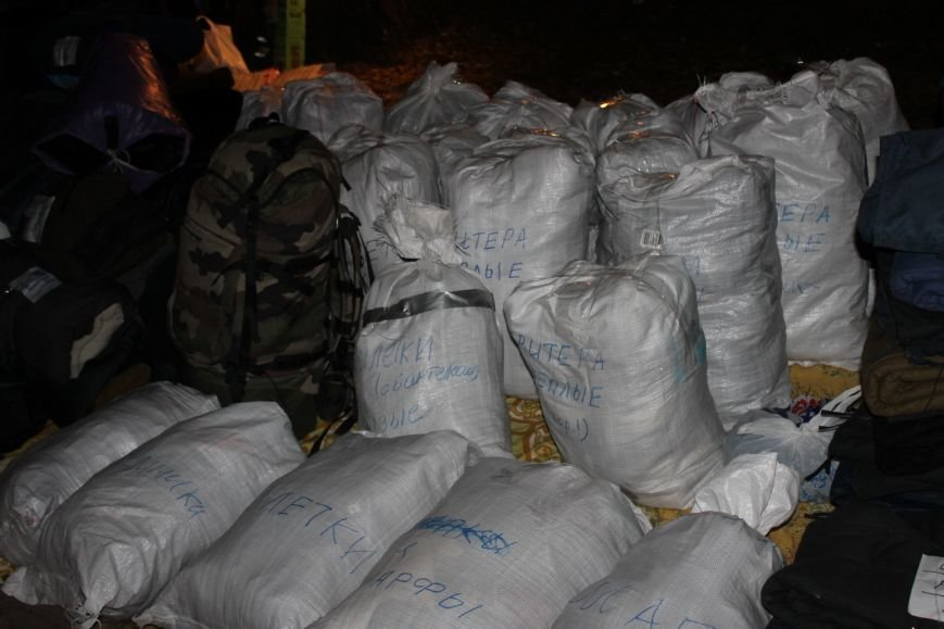 Боец с позывным «Борода» даже во время своего отпуска помогает армии и передает «гуманитарку» в зону АТО(ФОТО), фото-7