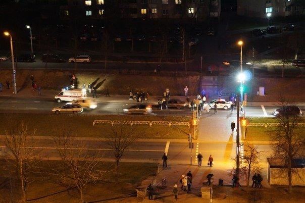 Фотофакт: на пр. Клецкова пешехода дважды сбили (Обновлено) (фото) - фото 1