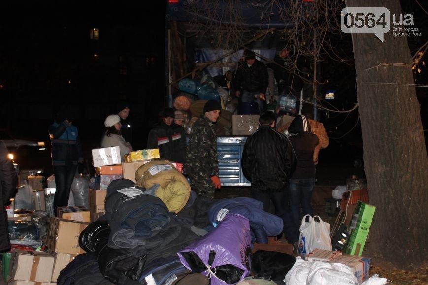 В Кривом Роге: перевернулся КамАз, во время пожара удалось спасти двоих мужчин, волонтеры отправились в АТО, фото-4