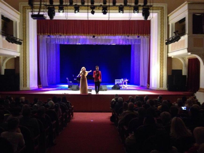 Во время концерта Татьяны Пискаревой в Кривом Роге были собраны средства для закупки теплых вещей бойцам в АТО, фото-2