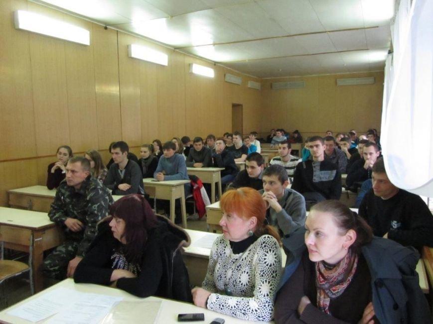 В Херсоне в кораблестроительном университете прошел концерт «Любите Украину», фото-2