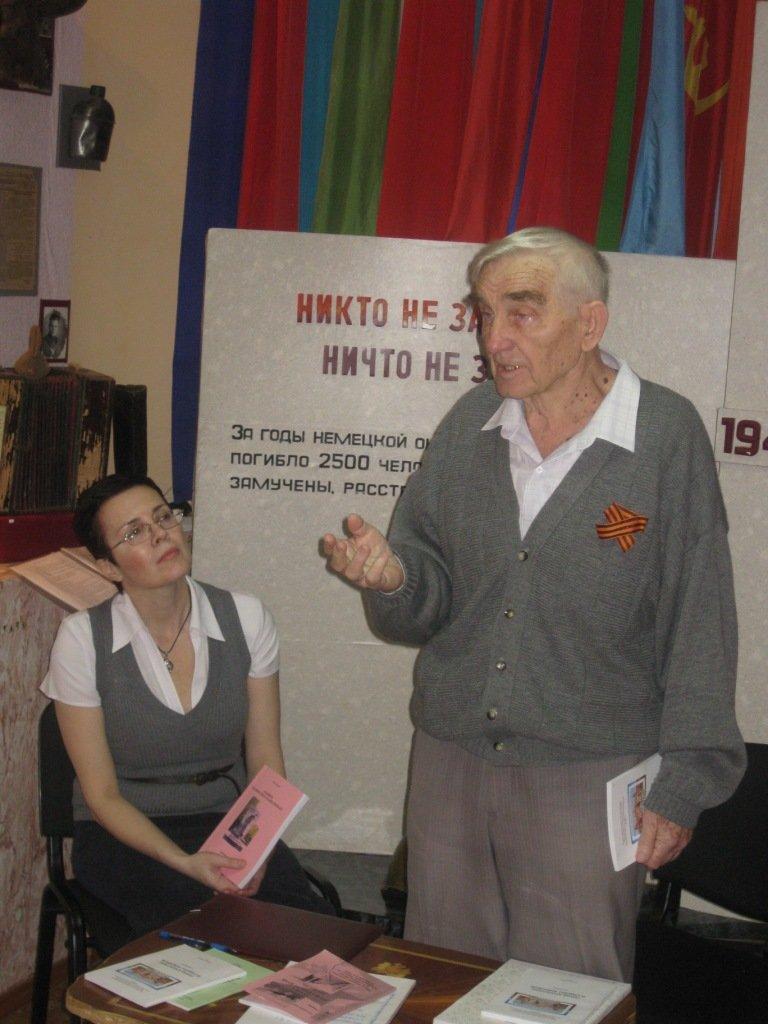Харин Н.В. в Лабинском музее (5)